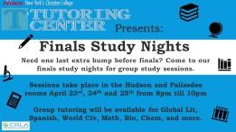 Study nights flyer 4-11 Pic